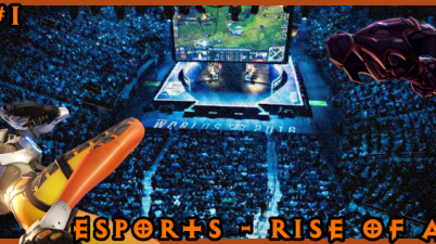 eSports Title Logo for the Blog Article
